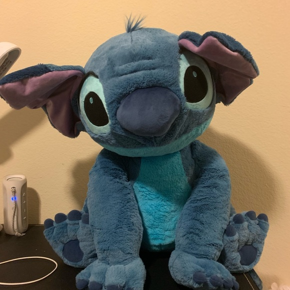 Flounder Stuffed Animal, Disney Other Giant Stitch Poshmark